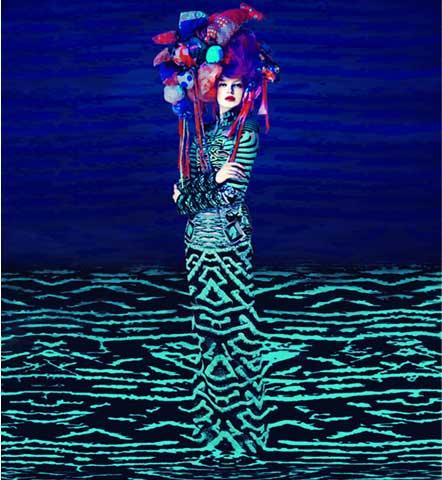 The surrealist fashion of Mary Katrantzou and Erik Madigan Heck