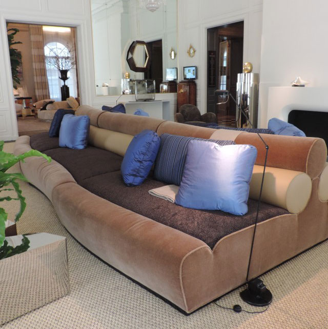 Juan Montoya Serpentine Couch