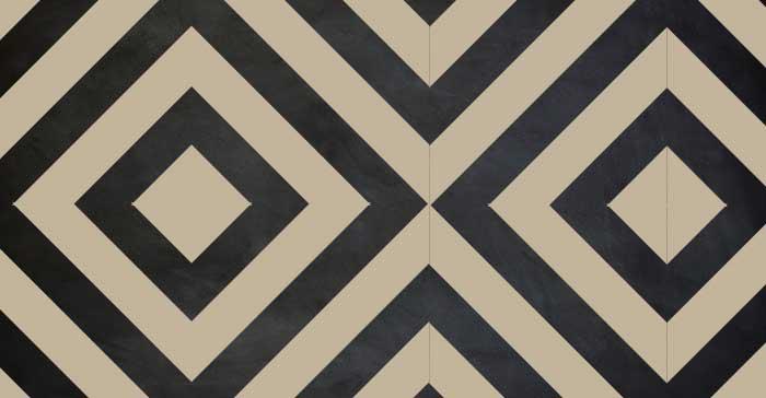 Pattern over chalkboard