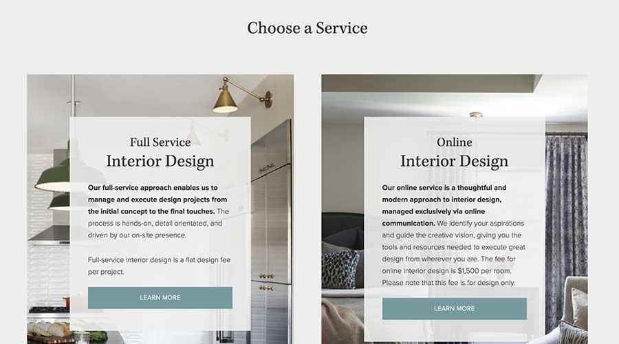 Choose-a-Service
