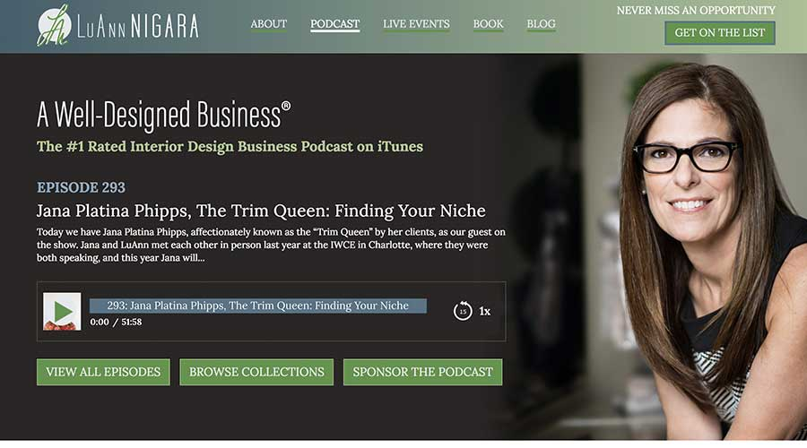 Podcast-Website