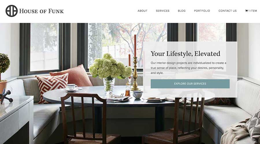 Interior Designer Home Page