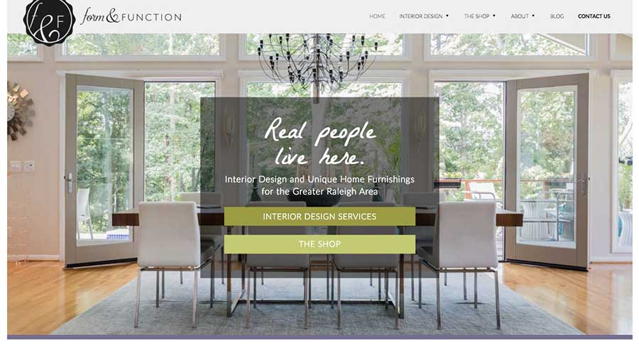 Interior Designer Form And Function