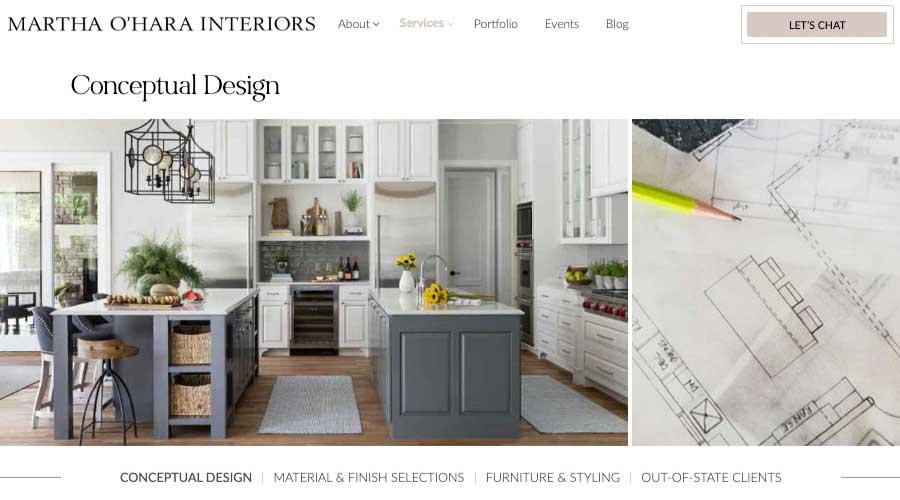 Conceptual Design By Martha Ohara Interiors