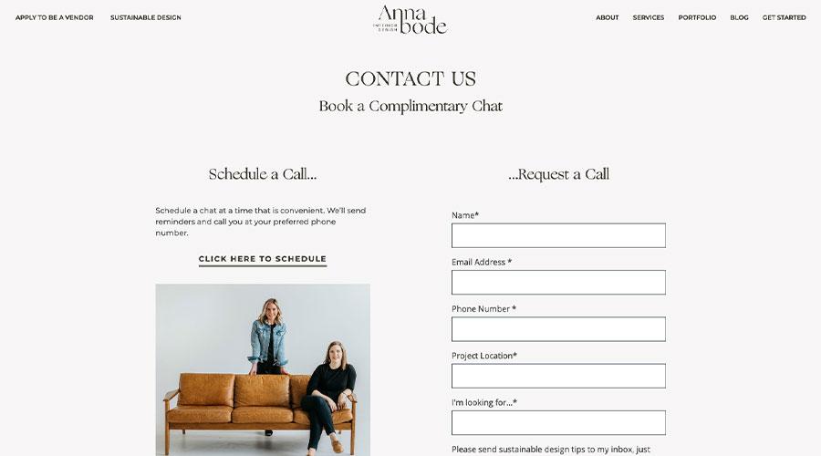 Annabode Contact