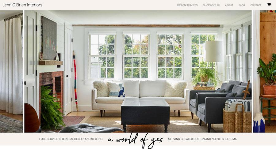 Jenn Obrien Interiors Home Page